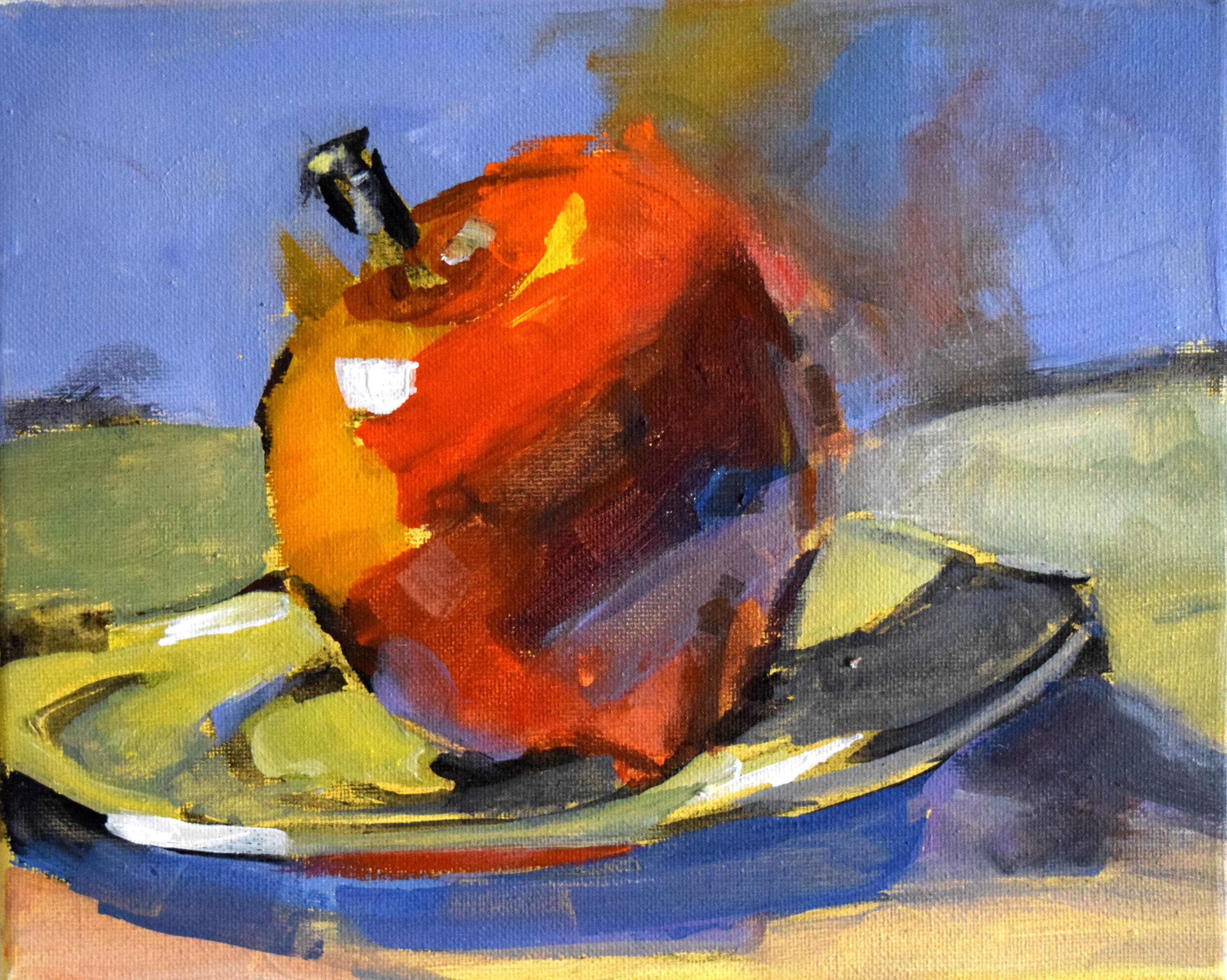 Mary Parkerson All Levels Still Life In Acrylic